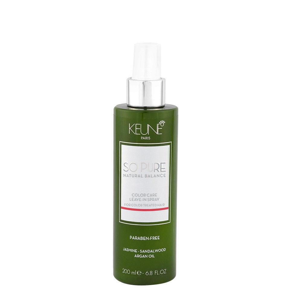 Keune So Pure Color Care Leave In Spray 200ml - spray senza risciacquo capelli colorati