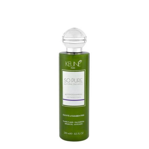 Keune So Pure Recover Shampoo 250ml - Shampoo Ristrutturante