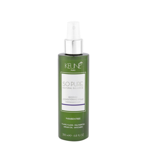 Keune So Pure Recover Conditioning Spray 200ml - balsamo ristrutturante spray