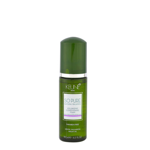 Keune So Pure Volumizing Conditioning Foam 185ml - balsamo in mousse