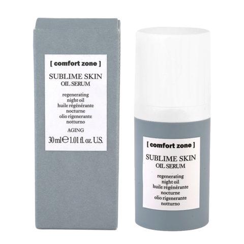 Comfort Zone Sublime Skin Oil Serum 30ml - olio rigenerante notte