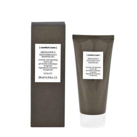 Comfort Zone Aromasoul Mediterranean shower gel 200ml - bagnodoccia aromatico