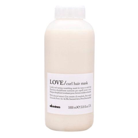 Davines Essential haircare Love curl hair mask 1000ml - maschera capelli ricci