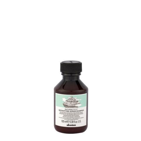Davines Naturaltech Detoxifying Scrub Shampoo 100ml - Shampoo rivitalizzante