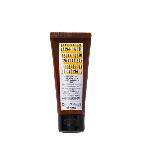 Davines Nourishing Hair Building Pak Hair Mask 60ml - Maschera ristrutturante