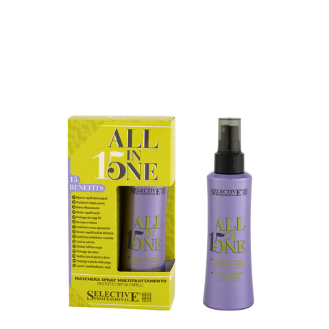 Selective All in one 150ml - maschera spray mulitrattamento