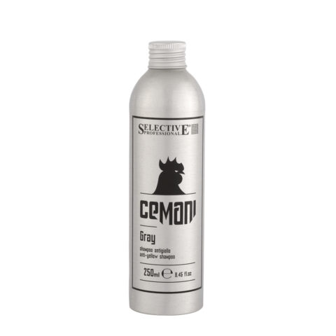 Selective Cemani Gray Shampoo 250ml - shampoo antigiallo