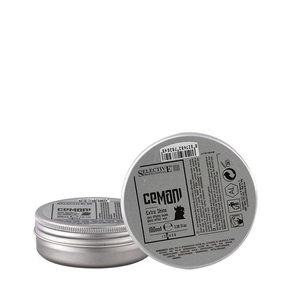 Selective Cemani Extra shine 100ml - cera effetto lucido