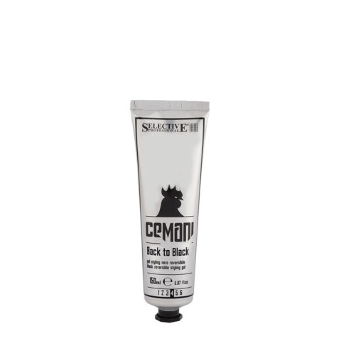 Selective Cemani Back to black 150ml - gel nero reversibile