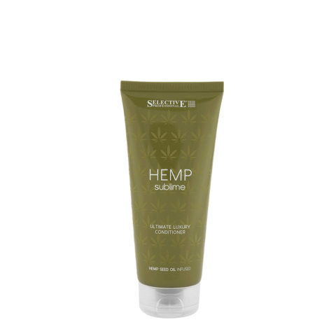Selective Hemp sublime Ultimate luxury Conditioner 200ml - balsamo olio di semi di canapa