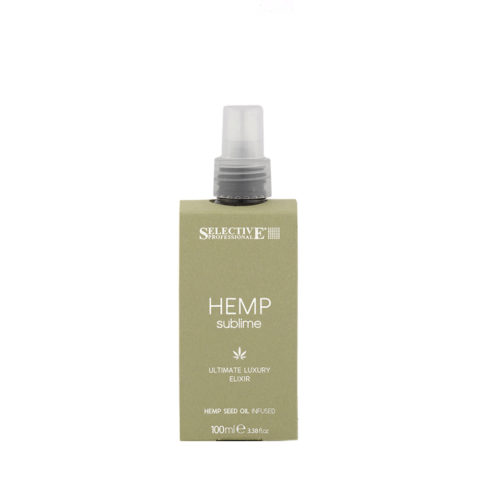 Selective Hemp sublime Ultimate luxury Elixir 100ml - elisir con olio di semi di canapa