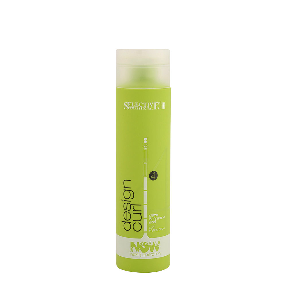 Selective Now Curl Design Curl 250ml - gel definizione ricci