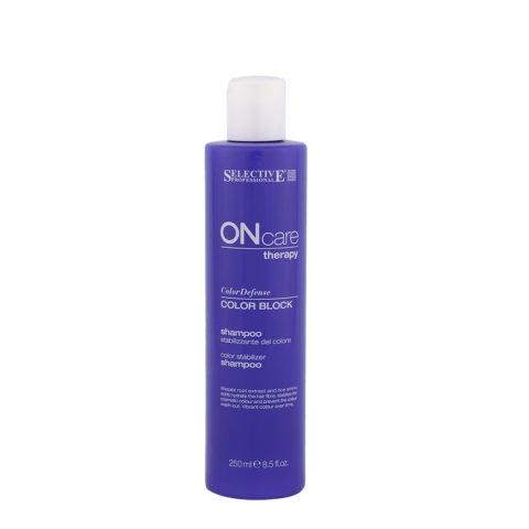 Selective On care Color Defense Color block Shampoo 250ml - shampoo stabilizzante colore