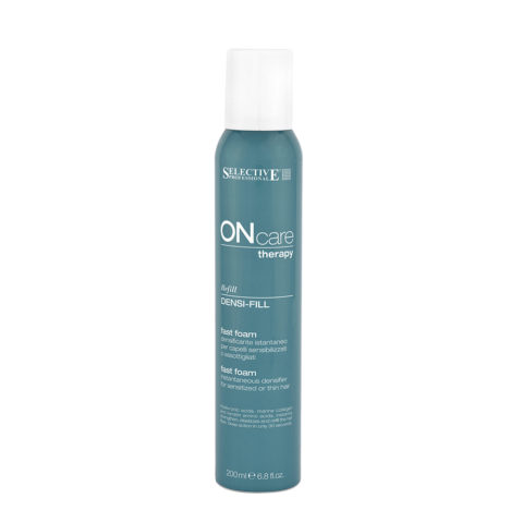 Selective On care Densi fill fast foam 200ml - trattamento densificante