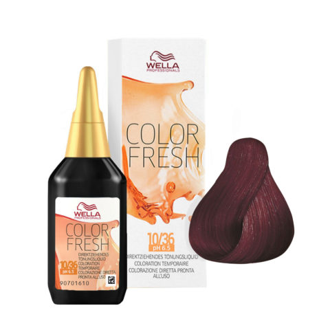 5/56 Castano chiaro mogano violetto Wella Color fresh 75ml