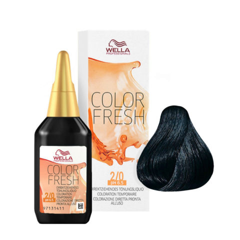 2/0 Nero Wella Color fresh 75ml