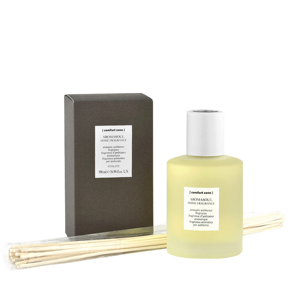 Comfort Zone Ambience Aromasoul Home fragrance 500ml - fragranza aromatica per ambiente - 10 diffusori inclusi