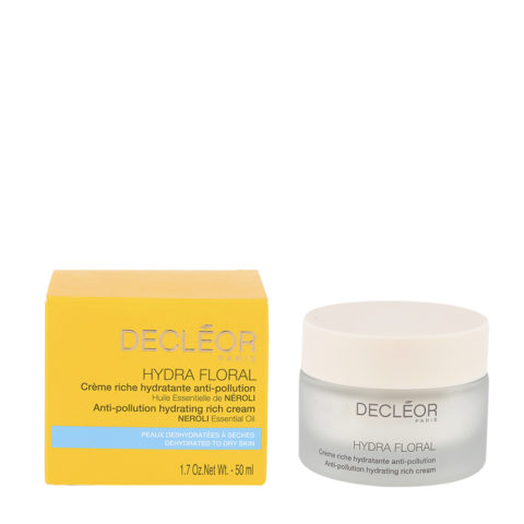Decléor Hydra Floral Neroli Crème riche Hydratante Anti-pollution 50ml - crema anti-inquinamento
