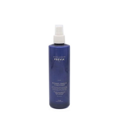 Previa Silver Blonde Biphasic Leave in Conditioner 260ml - balsamo anti-giallo senza risciacquo