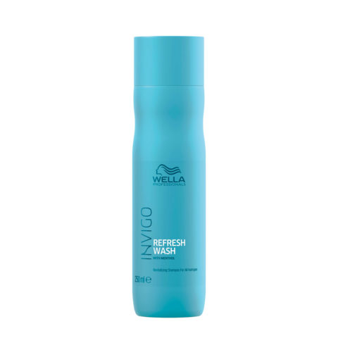 Wella Invigo Balance Refresh Wash Shampoo 250ml - revitalizzante