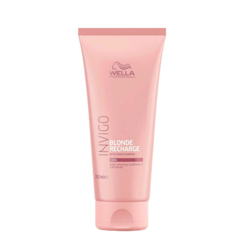 Wella Invigo Blonde Recharge Cool Blonde Conditioner 200ml - balsamo pigmentato biondi freddi