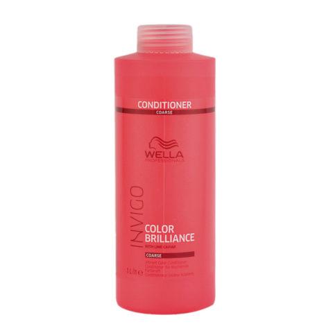 Wella Invigo Color Brilliance Conditioner capelli grossi 1000ml - balsamo