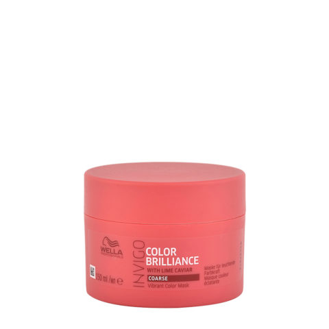 Wella Invigo Color Brilliance Mask Coarse hair 150ml - maschera capelli grossi