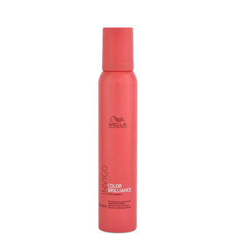 Wella Invigo Color Brilliance Vitamin Conditioning Mousse 150ml - spuma con vitamina E