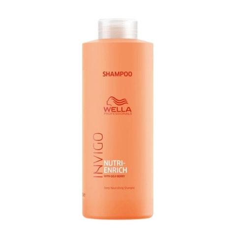 Wella Invigo Nutri-Enrich Shampoo 1000ml - shampoo nutrizione intensa