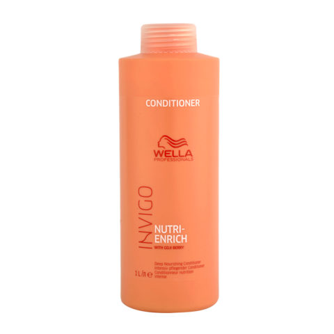 Wella Invigo Nutri-Enrich Conditioner 1000ml - balsamo nutrizione intensa