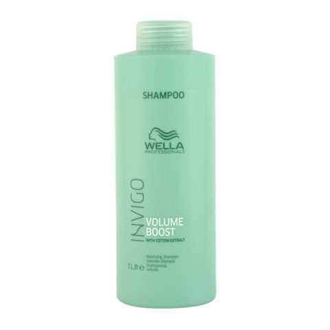 Wella Invigo Volume Boost Bodifying Shampoo 1000ml - shampoo volumizzante