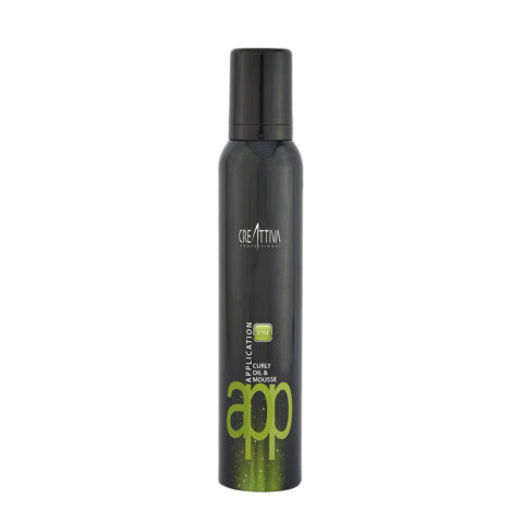 Erilia Creattiva App Styling Curly Oil & Mousse 200ml - mousse ricci