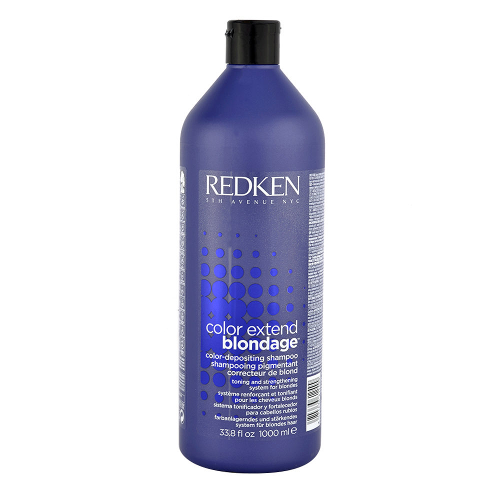 Redken Color extend Blondage Shampoo 1000ml - shampoo antigiallo