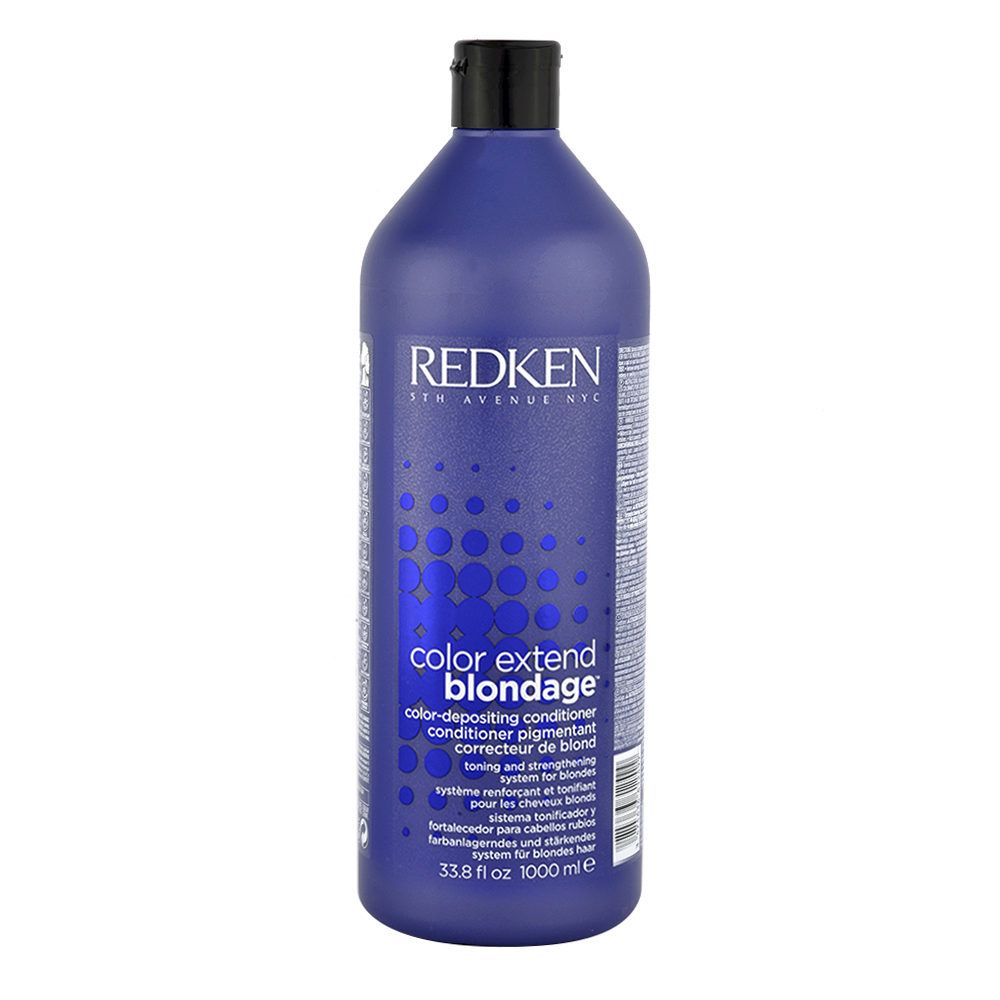 Redken Color extend Blondage Conditioner 1000ml - balsamo antigiallo