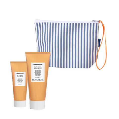 Comfort Zone Sun soul After sun Face cream 60ml Body cream 200ml pochette omaggio