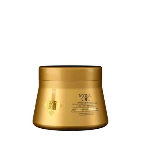 L'Oreal Mythic oil Light masque 200ml - maschera idratante leggera capelli fini