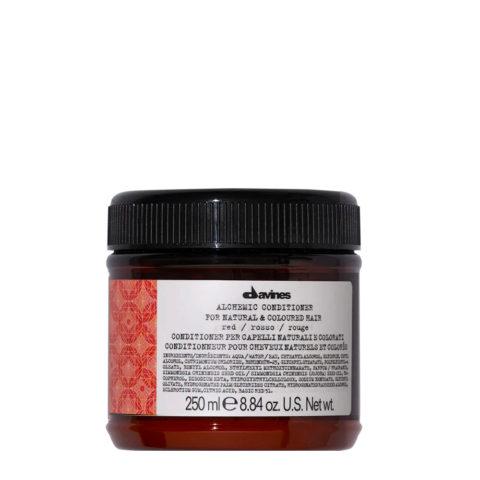 Davines Alchemic Conditioner Red 250ml - Balsamo Riflessante Per Capelli Rossi