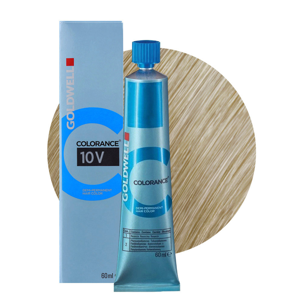 10V Biondo platino violetto Goldwell Colorance Cool blondes tb 60ml