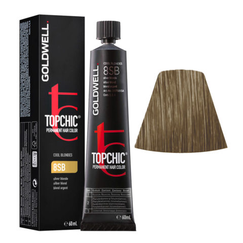 8SB Biondo argento Goldwell Topchic Cool blondes tb 60ml