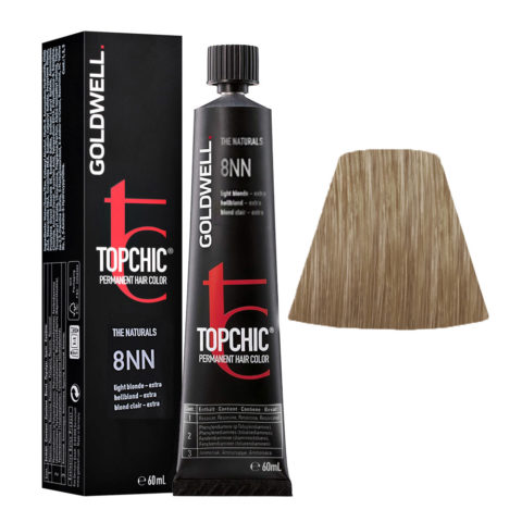 8NN Biondo chiaro intenso Goldwell Topchic Naturals tb 60ml