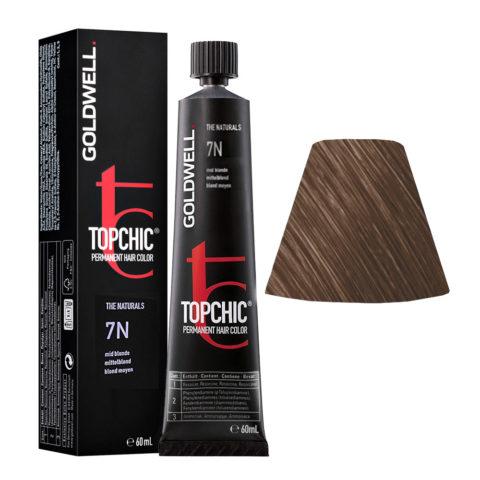 7N Biondo medio naturale Goldwell Topchic Naturals tb 60ml