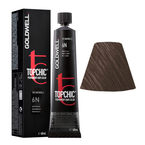 6N Biondo scuro naturale Goldwell Topchic Naturals tb 60ml