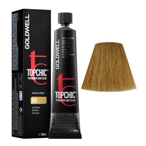 8G Biondo chiaro dorato Goldwell Topchic Warm blondes tb 60ml