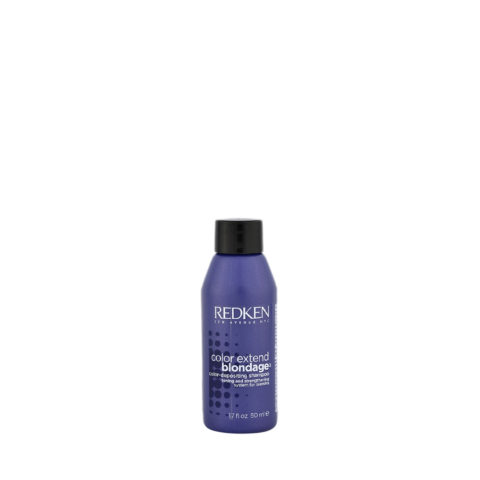 Redken Color extend Blondage Shampoo 50ml - shampoo capelli biondi
