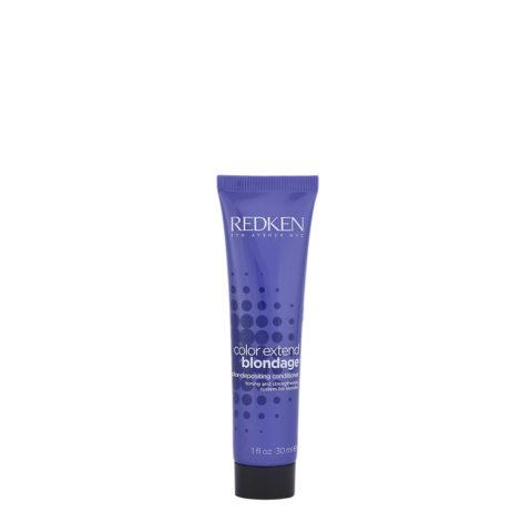 Redken Color extend Blondage Conditioner 30ml - balsamo capelli biondi
