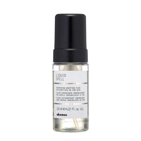 Davines Liquid spell 125ml - Fluido rinforzante capelli danneggiati o fini