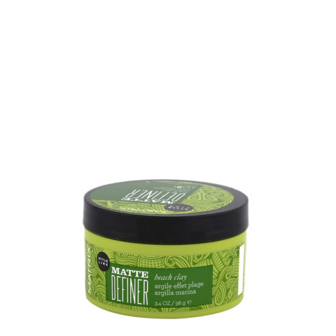 Matrix Style link Play Matte definer Beach clay 100ml - cera opaca tenuta forte