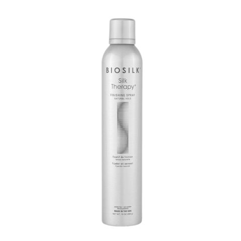 Biosilk Silk Therapy Styling Finishing Spray Natural Hold 284gr - lacca media