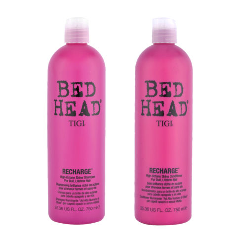 Tigi Kit Recharge Shampoo 750ml   Recharge Conditioner 750ml