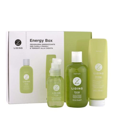 Kemon Liding Energy Box programma energizzante capelli fragili